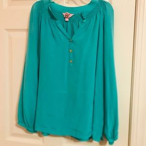Teal Lilly Pulitzer Elsa Top